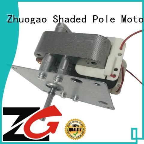 AC shaded pole motor