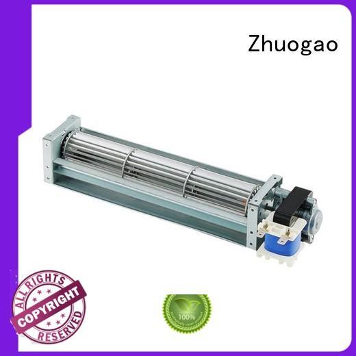 cross flow fan suppliers electric blower mica Zhuogao Brand