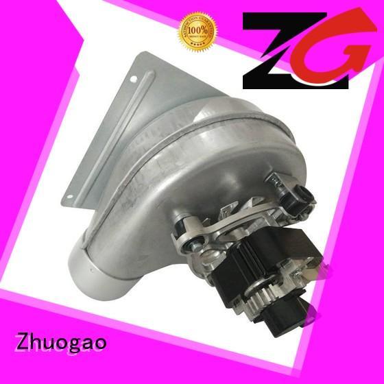 box centrifugal blower customized for gas boiler Zhuogao