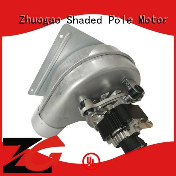 Zhuogao ac centrifugal blower fan supplier for gas boiler