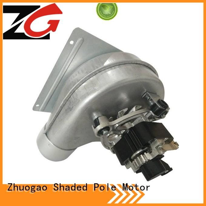Zhuogao motor high pressure centrifugal blower in china for gas boiler