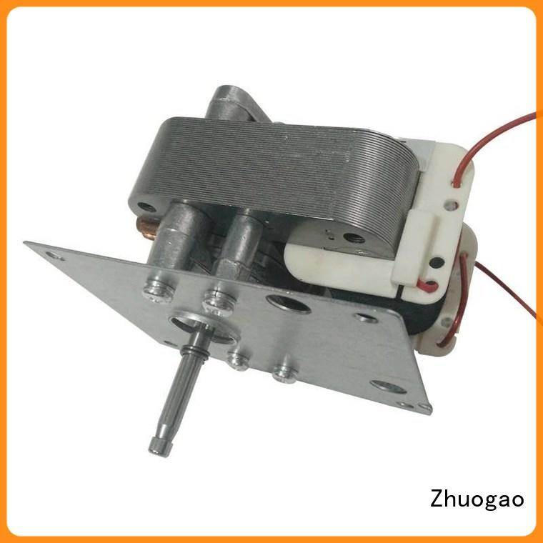 professional shaded pole ac gear motor small wholesale for stove pellet