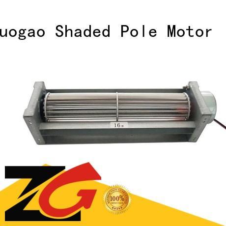 motor gas dc fan Zhuogao manufacture